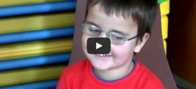 Daneček, 3,5 let, Leberova slepota II