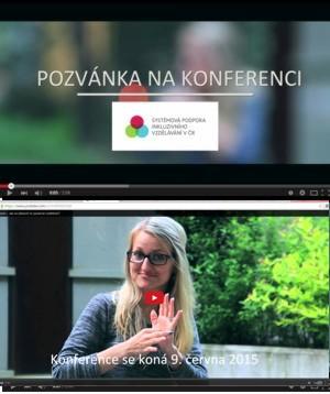 Příjměte pozvání na konferenci Systémová podpora inkluzivního vzdělávání v ČR